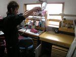 机の他子ども部屋の天井・壁・床・カーテンを施工